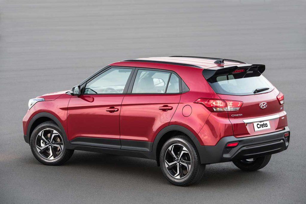 Hyundai Creta 2019 vista trasera