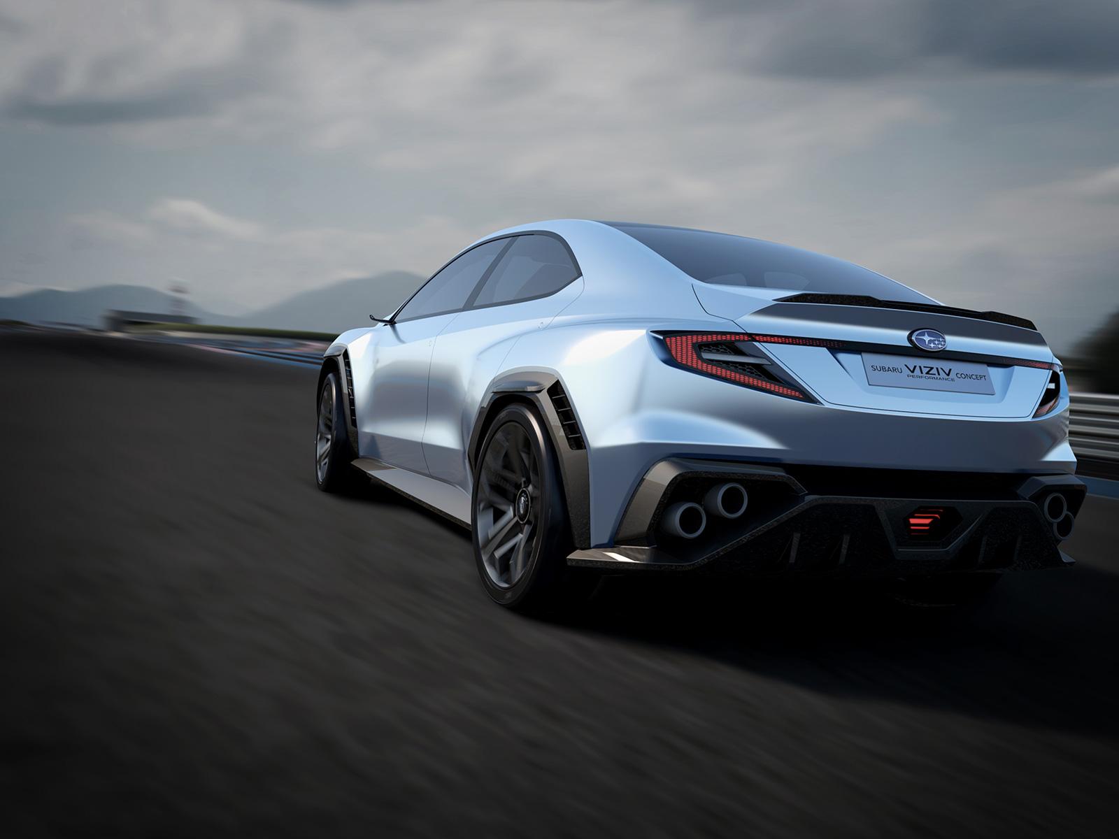 Subaru VIZIV Performance concept lateral posterior