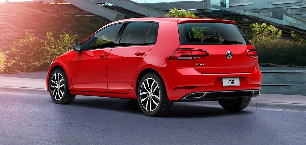 Volkswagen Golf 2018 perfil