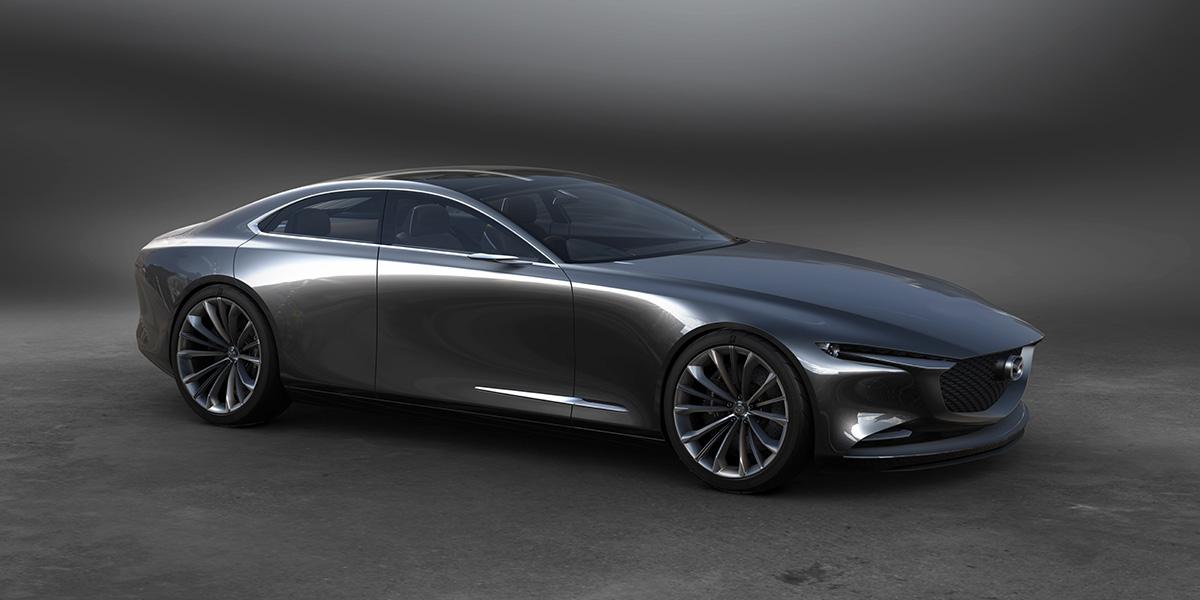 Mazda Vision Coupe perfil