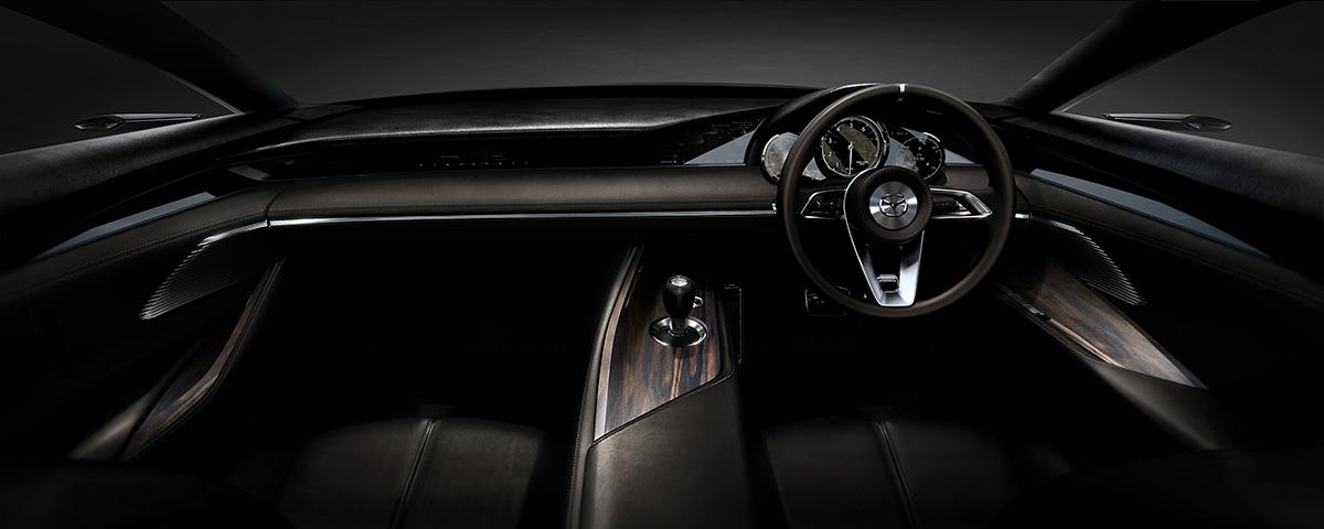 Mazda Vision Coupe interior