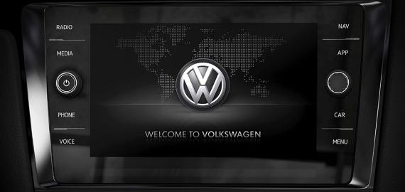 Volkswagen Golf R 2018 pantalla