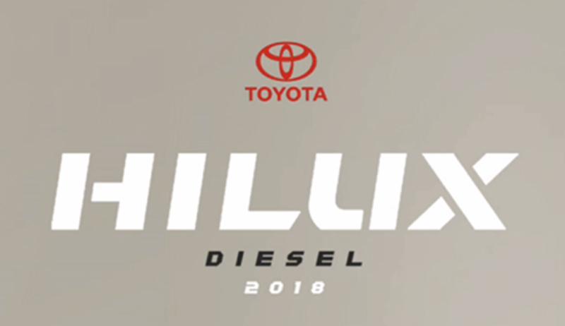Toyota Hilux Diesel 2018 cartel