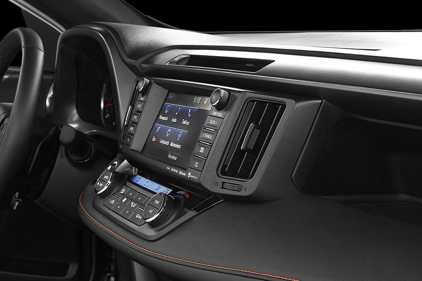 Toyota RAV4 2018 interior - Autos Actual México