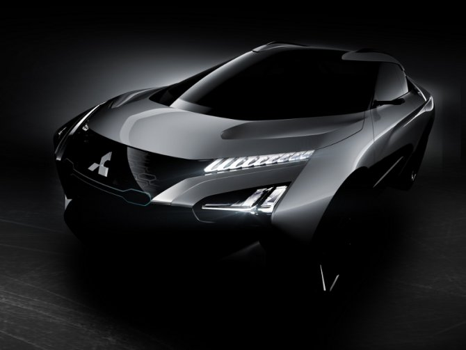 Mitsubishi e-Evolution concept prototipo