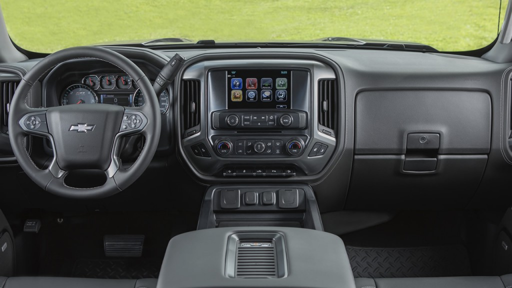 Chevrolet Cheyenne Centennial 2018 panel interior