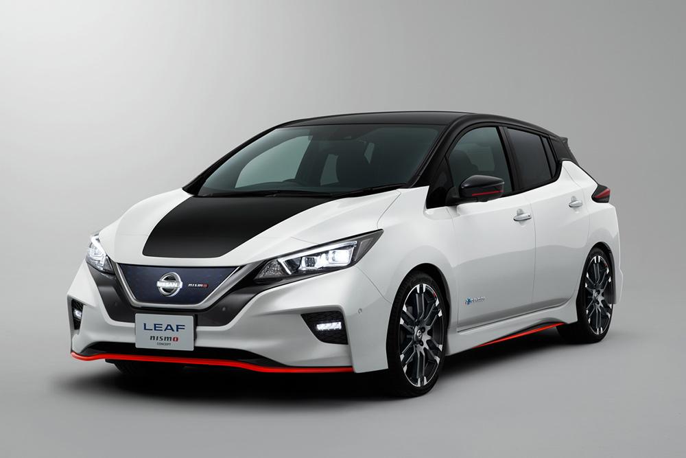 Nissan Leaf NISMO 2019 frente