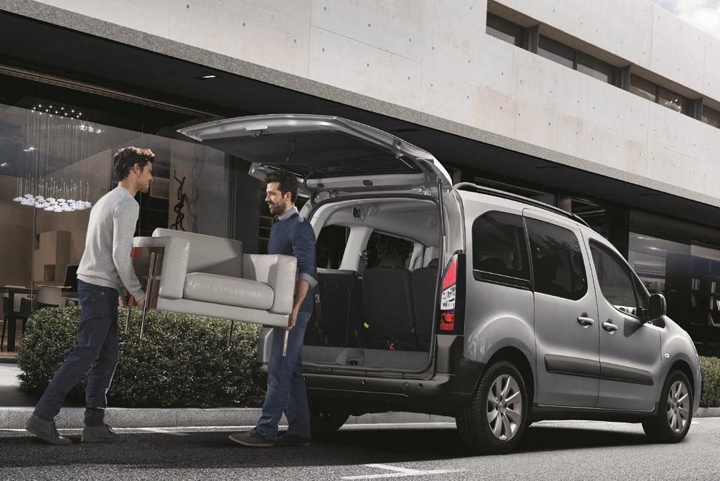 Peugeot Partner Tepee 2018 carga