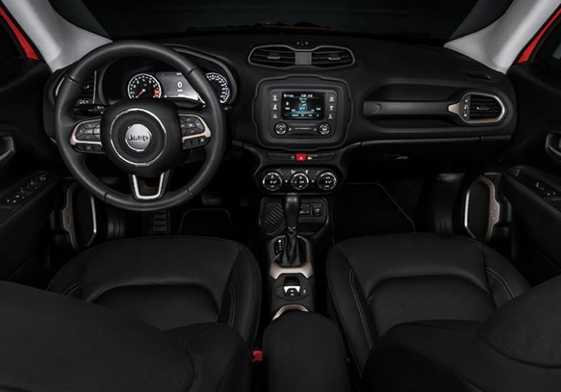Jeep renegade 2018 interior delantero autos actual m xico for Interieur jeep renegade