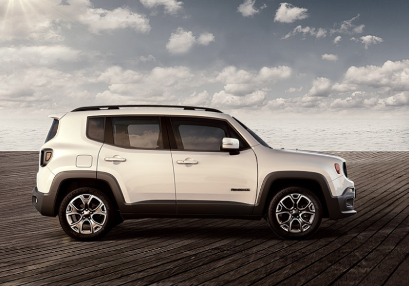 Jeep Renegade 2018 lateral