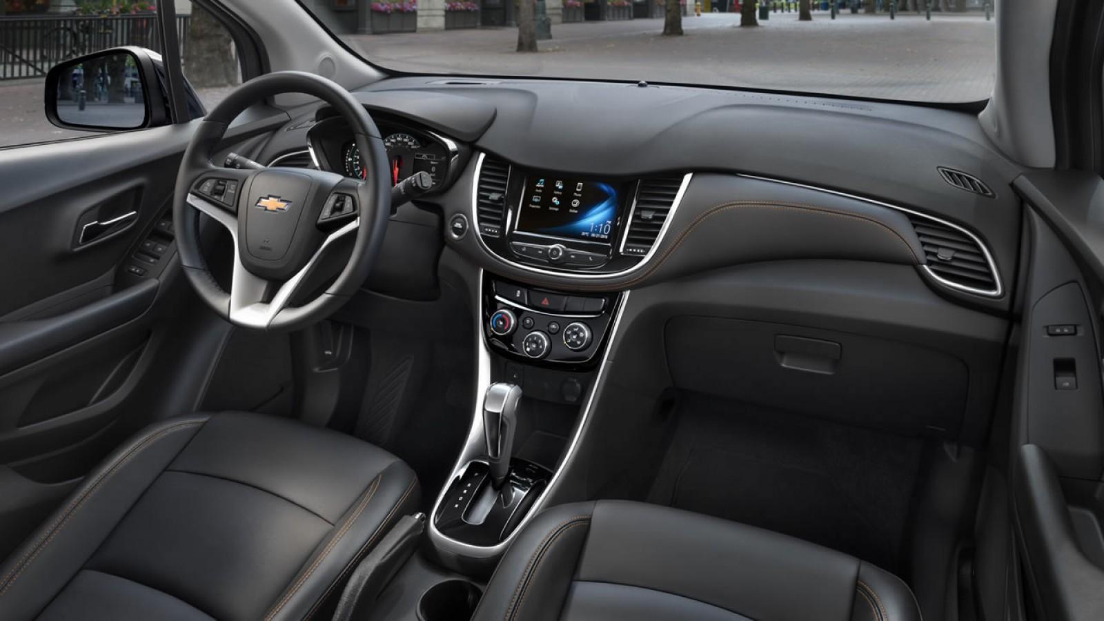 Chevrolet Trax 2018 llega a México con 4G LTE, aquí ...