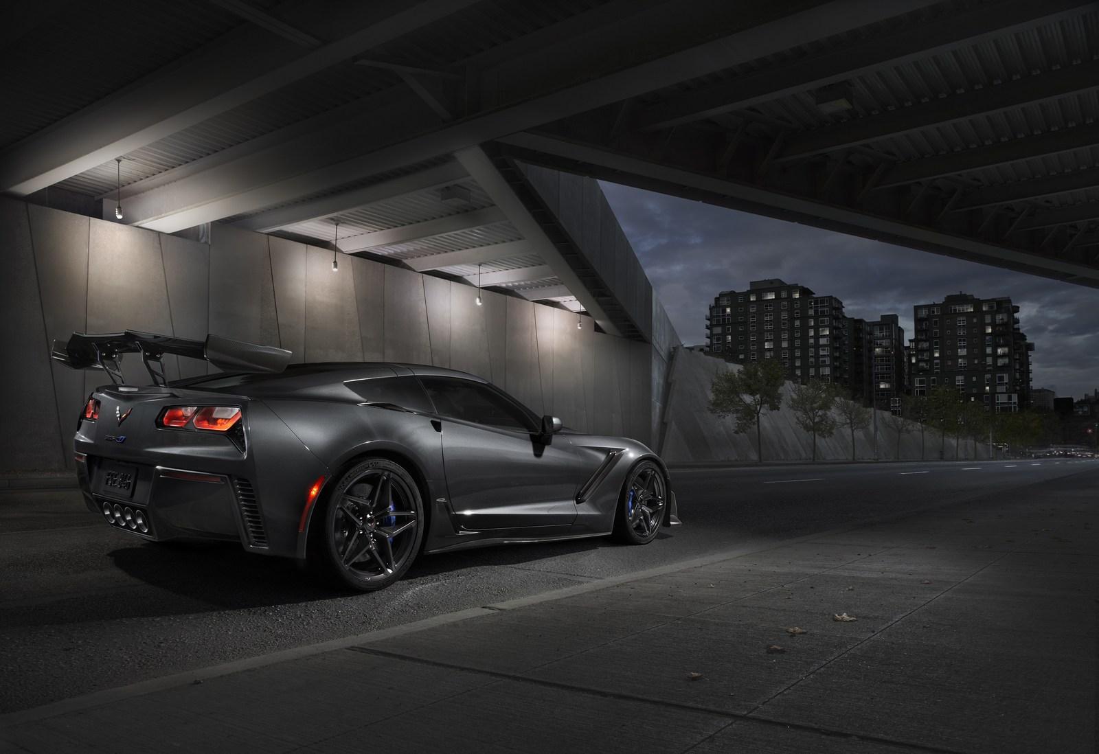 Chevrolet Corvette ZR1 lateral