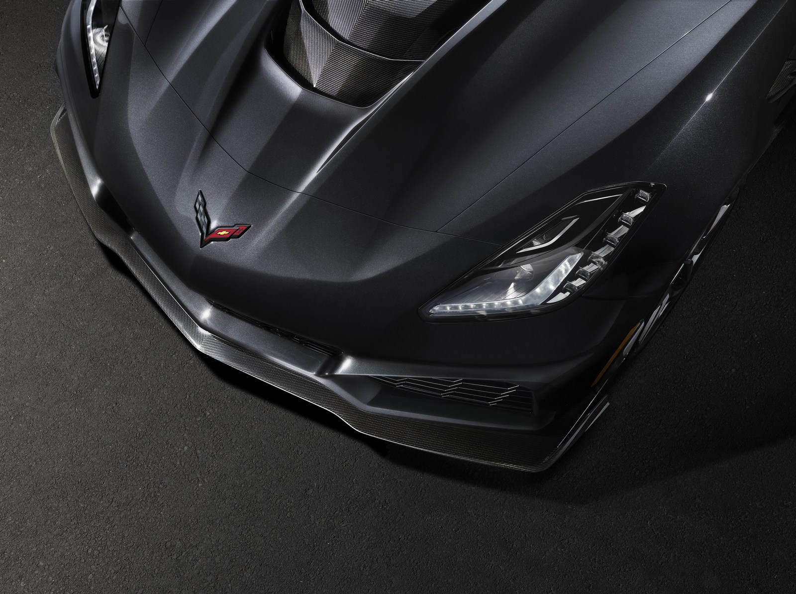 Chevrolet Corvette ZR1 frente
