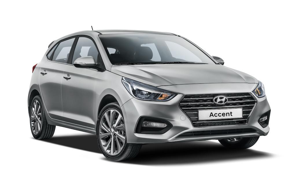 Hyundai Accent Hatchback 2018 México frente