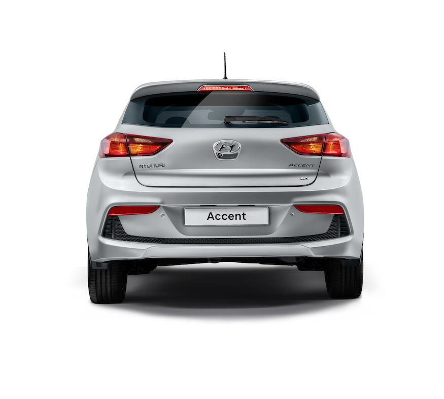 Hyundai Accent Hatchback 2018 México posterior