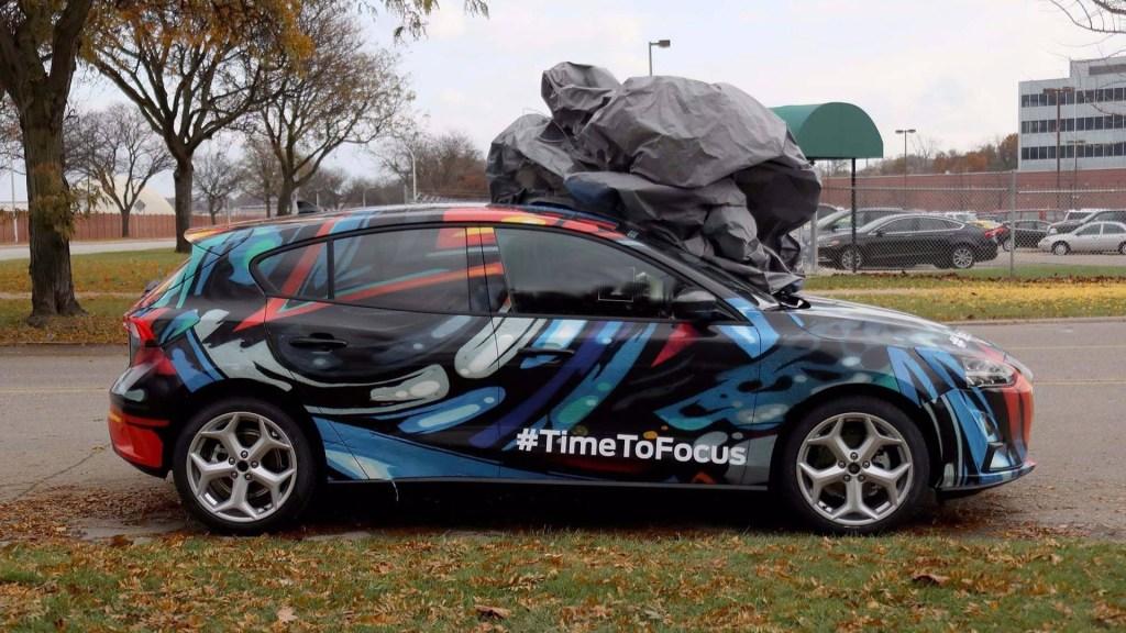 Ford Focus 2019 filtrado sin camuflaje, o casi… - Autos Actual México