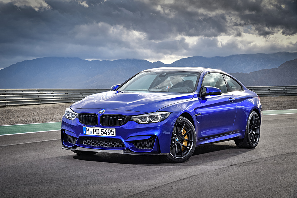 BMW M4 CS 2018 en México color azul
