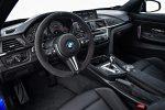 BMW M4 CS 2018 en México interior pantalla touch de 8.8 pulgadas volante forrado