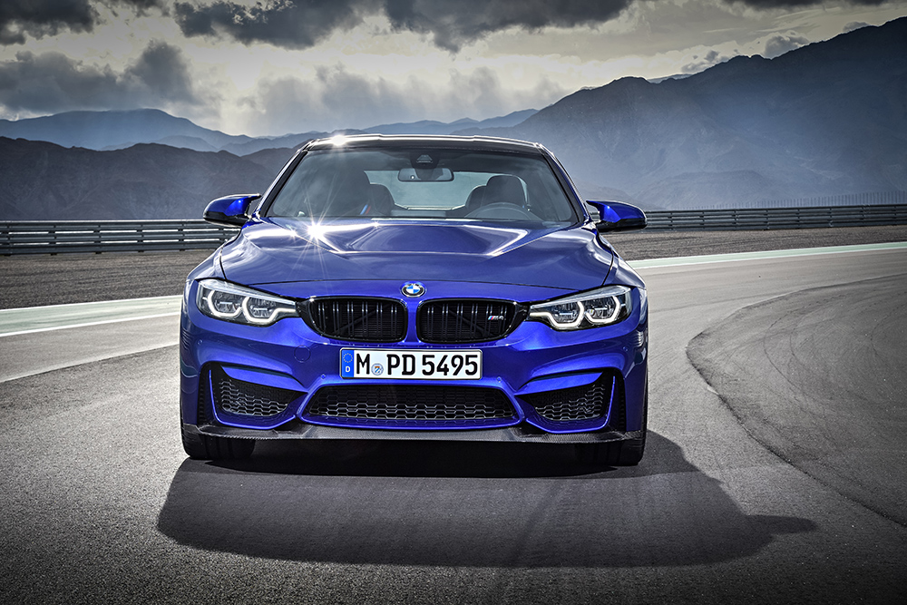 BMW M4 CS 2018 en México  color azul frente edición especial