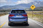 BMW X3 2018 en México frente posterior en carretera