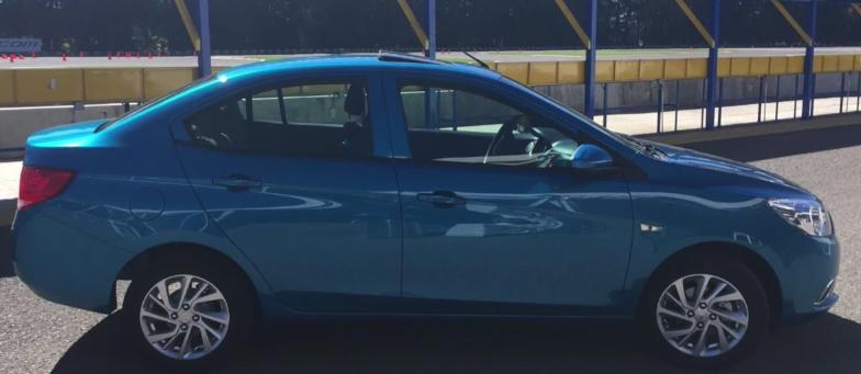 Chevrolet Aveo 2019 parrilla