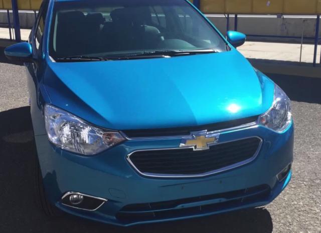 Chevrolet Aveo 2019 frente