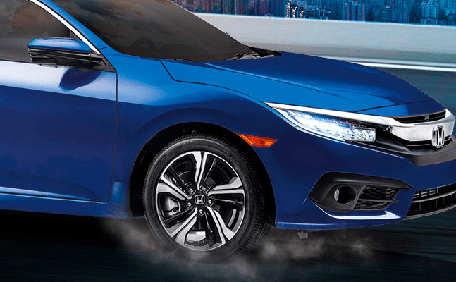 Honda Civic 2018 en México, lateral