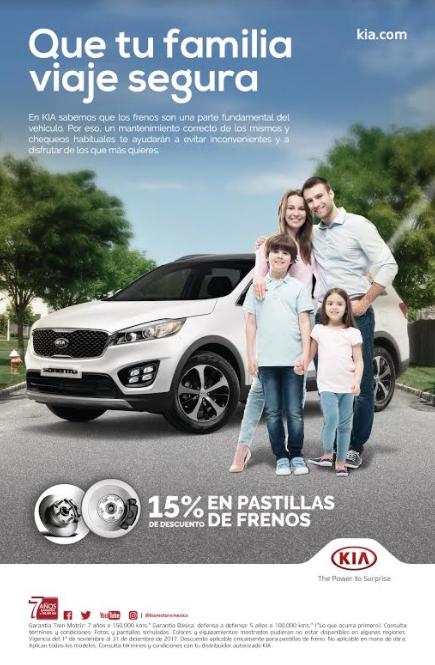 KIA Motors promociones
