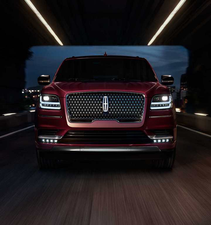 Lincoln Navigator 2018 México nuevo frente imponente