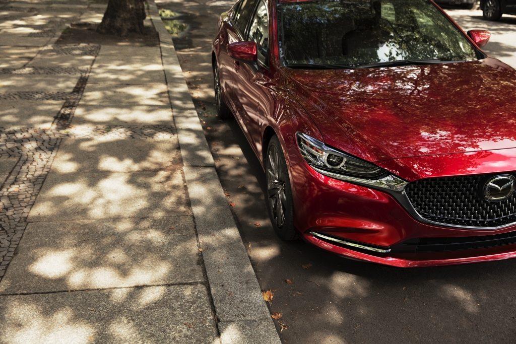Mazda 6 2019 nuevo frente