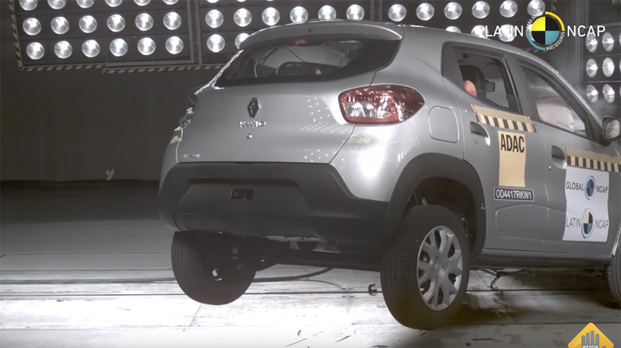 Renault Kwid 2018 en Latin NCAP