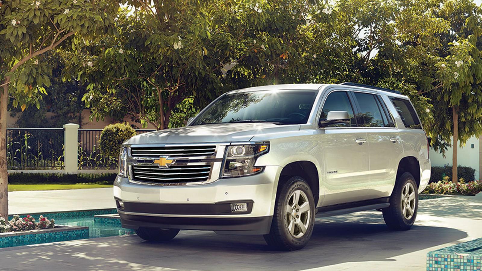 Chevrolet Tahoe 2018 perfil