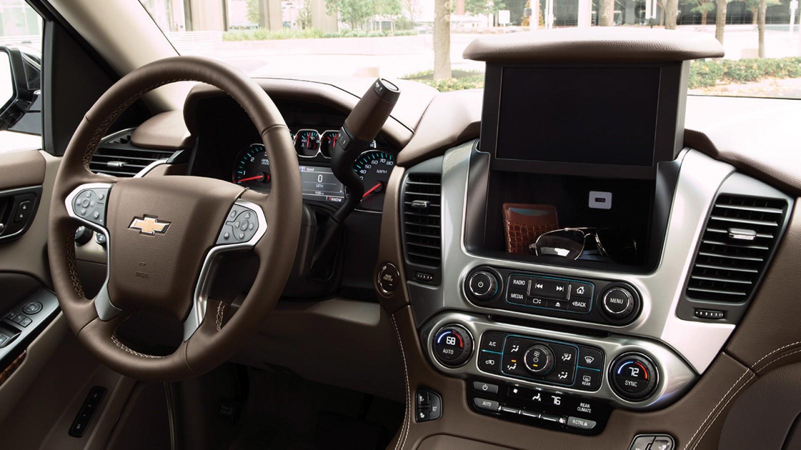 Chevrolet Tahoe 2018 interior controles - Autos Actual México