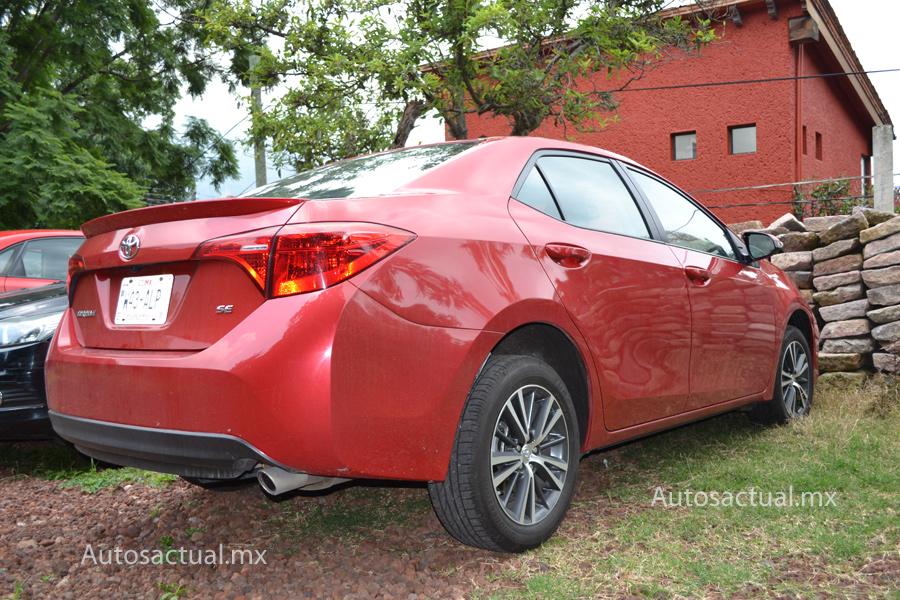 Toyota Corolla 2018 prueba posterior