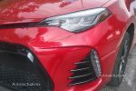 Toyota Corolla 2018 prueba de manejo - faro frontal LED y faros antiniebla