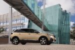 Peugeot 5008 SUV color dorado lateral