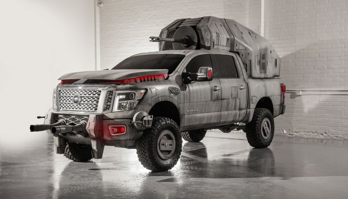 Nissan Titan AT-M6 Star Wars