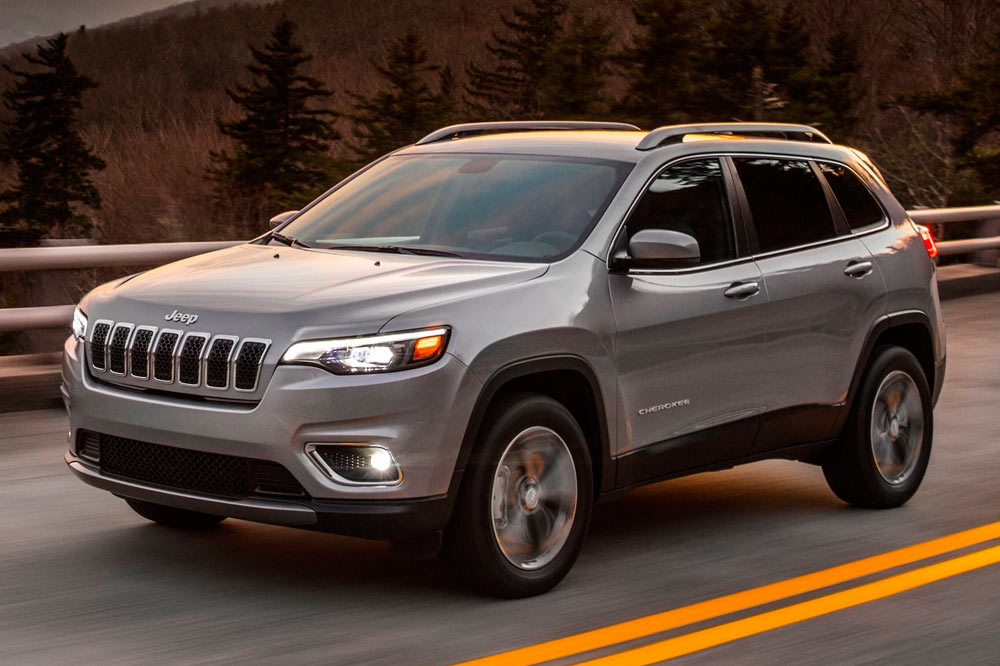 Jeep Cherokee 2019 color plata