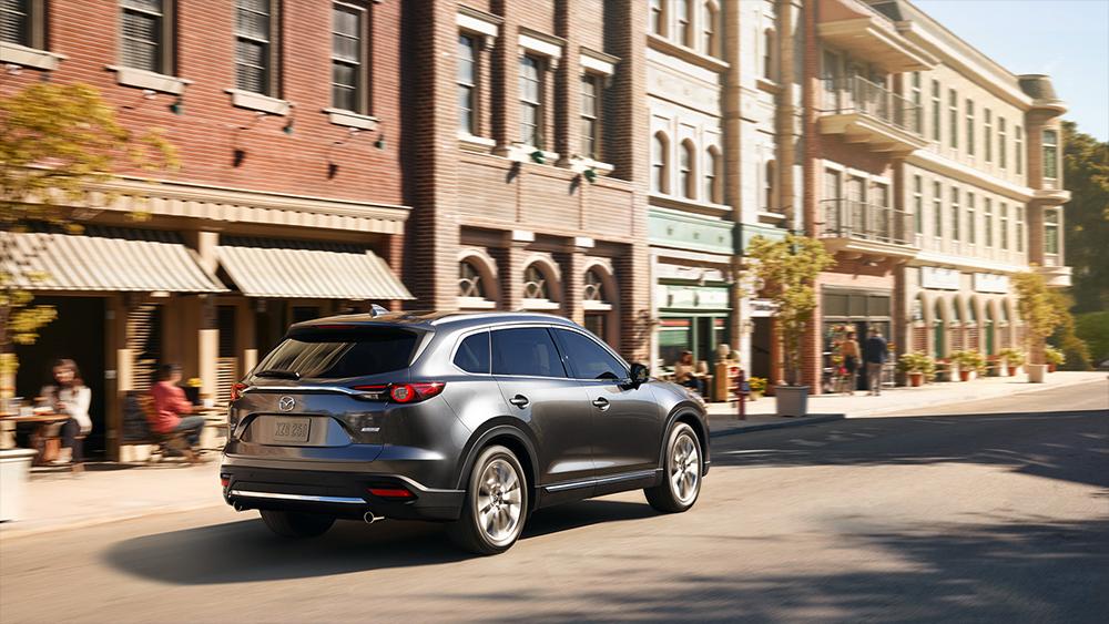 Mazda CX-9 Signature 2018 en México parte posterior