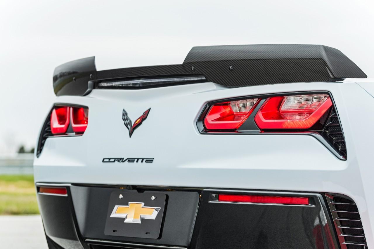 Chevrolet Corvette Carbon 65 Special Edition en México parte posterior o zaga
