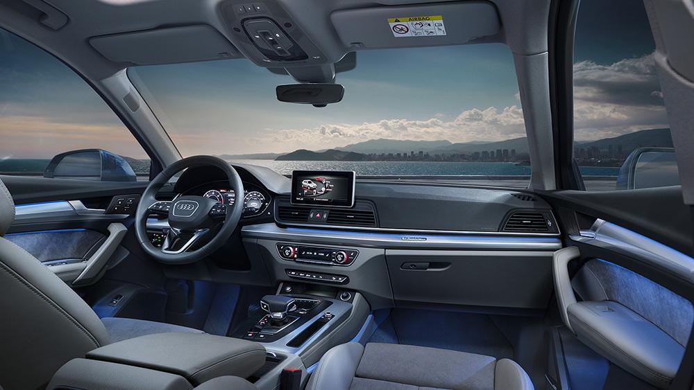 Audi Q5 2018 en México - interiores