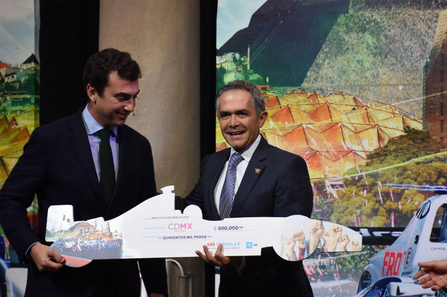 Donación Fórmula E E-Prix 2018 en CDMX