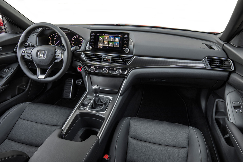 Honda Accord 2018 Interiores Tablero Pantalla Touch