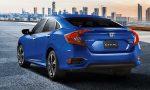 Honda Civic 2018 zaga