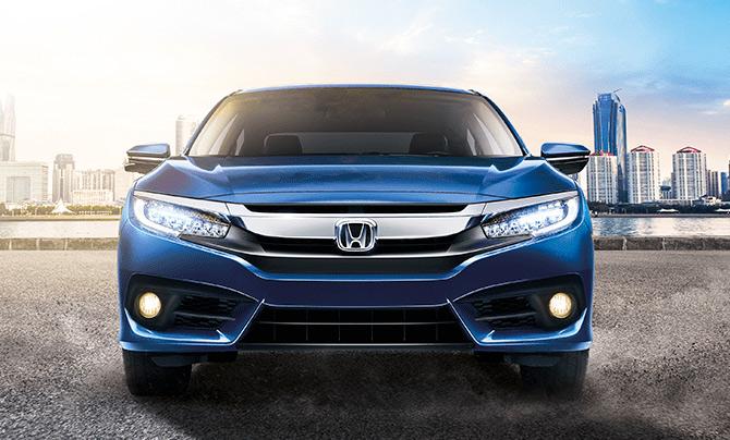 Honda Civic 2018 México frente