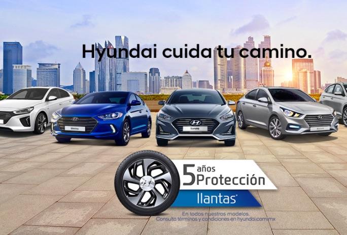 Hyundai 5 años de protección a llantas