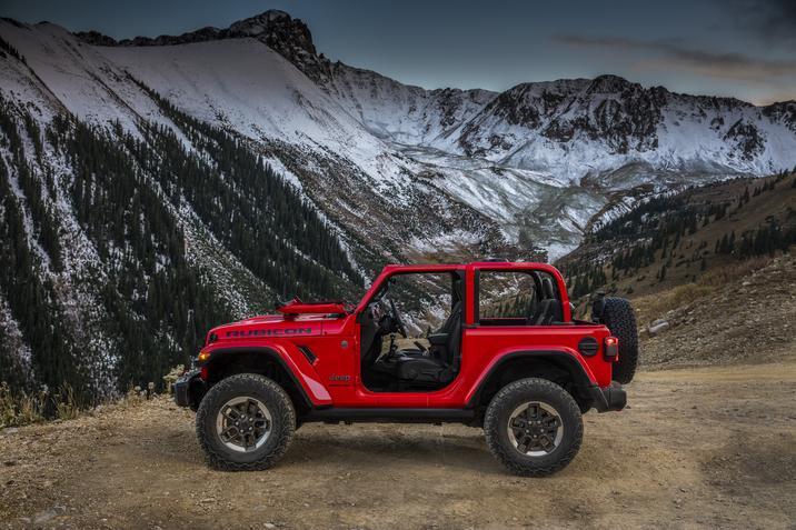 Jeep Wrangler 2018 México exterior lateral