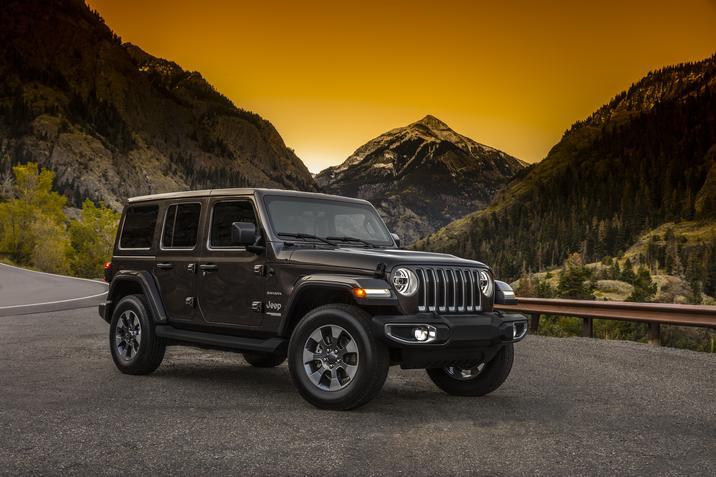 Jeep Wrangler 2018 México exterior lateral atardecer