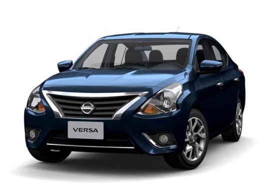 Nissan Versa 2018 color azul en México