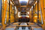 Toyota CH-R 2018 llegando a México en puerto - frente luces